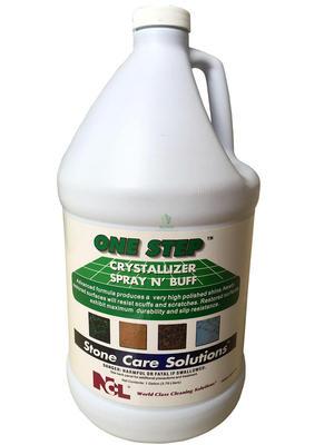 新品NCL2501大理石结晶液抛光液2合1石材养护剂抛光剂晶面剂