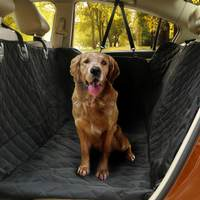 Waterproof car supplies rear car pad Golden Retriever large dog dog seat cushion scalable pet