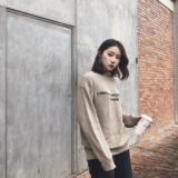 现货 Sup 18fw Cotton Sweater 联名毛衣 套头圆领针织衫