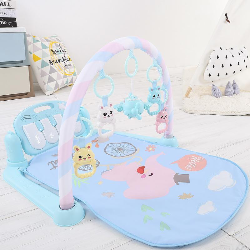 婴儿脚踏琴婴儿玩具健身架新生婴儿玩具音智早教玩具