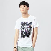 gxg.jeans男装新款 时尚潮流休闲圆领短袖T恤62644109