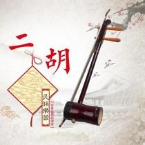 黑檀龙头二胡乐器专业演奏考级二胡独奏戏曲京剧专用二胡送配件