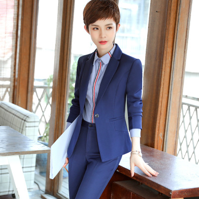 Female company casual office personality teacher was thin summer temperament high-grade handsome Ms.