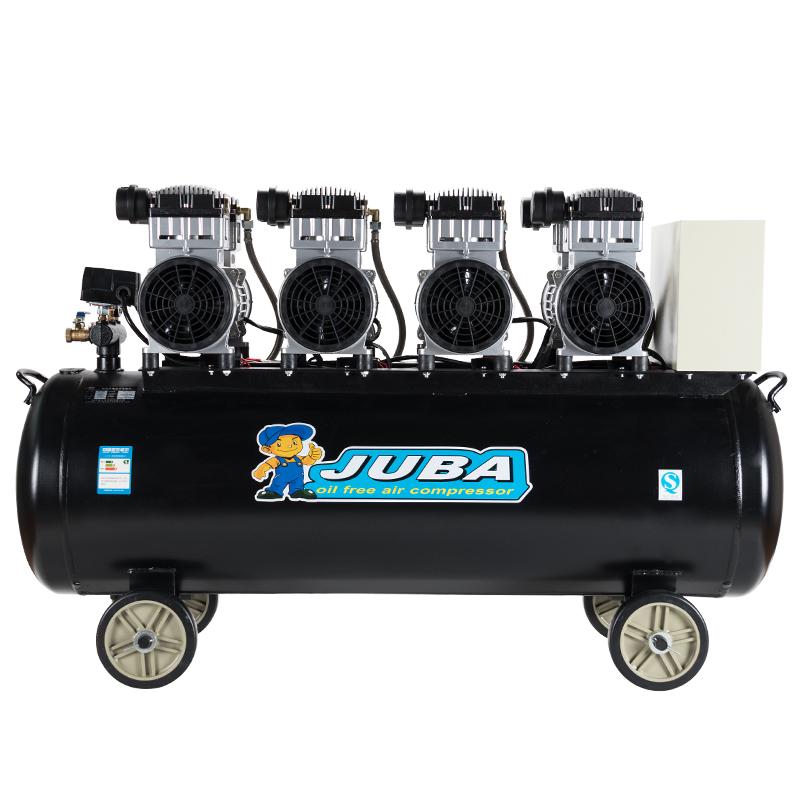 飓霸空压机无油静音气泵工业级380V空气压缩机大型喷漆高压冲气泵