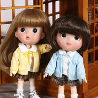 ob11 baby clothing school uniform jacket shirt pants clothes 12 points bjd US knot pig GSC PICCODO