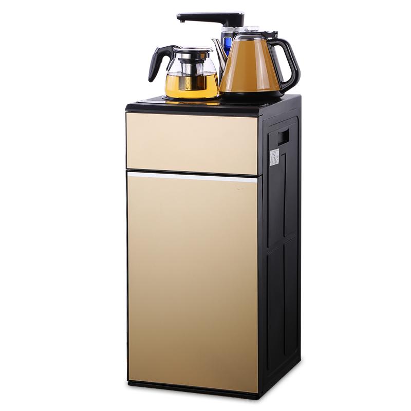 扬电双开门全自动家用节能茶吧机立式冷热智能自动断电制冷饮水机