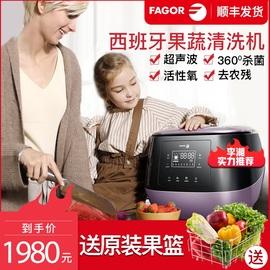 西班牙法格洗菜机果蔬清洗机家用全自动解毒机全智能食材净化机图片