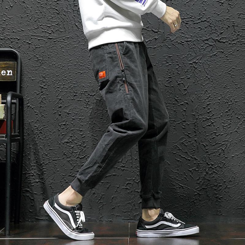 灯芯绒裤哈伦裤