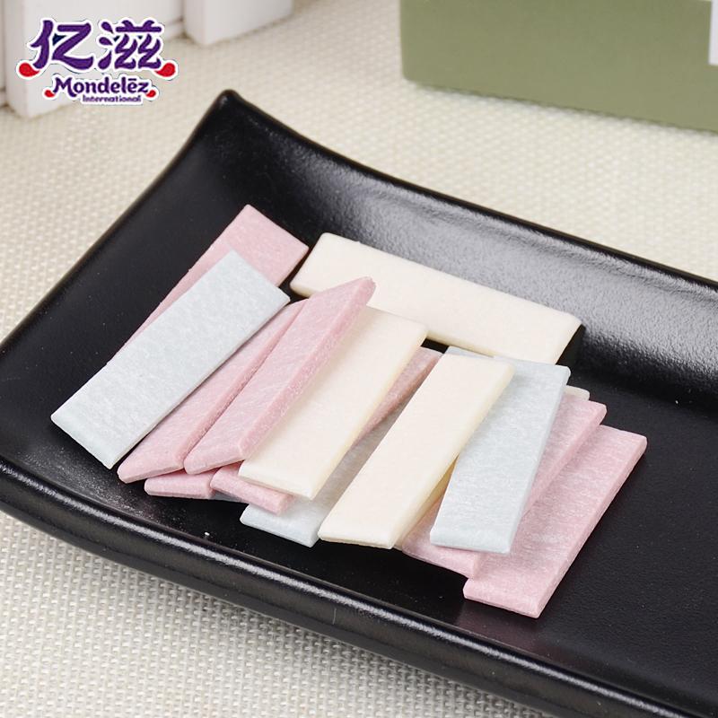 亿滋炫迈口香糖5盒西瓜味薄荷味泡泡糖办公室休闲零食糖果