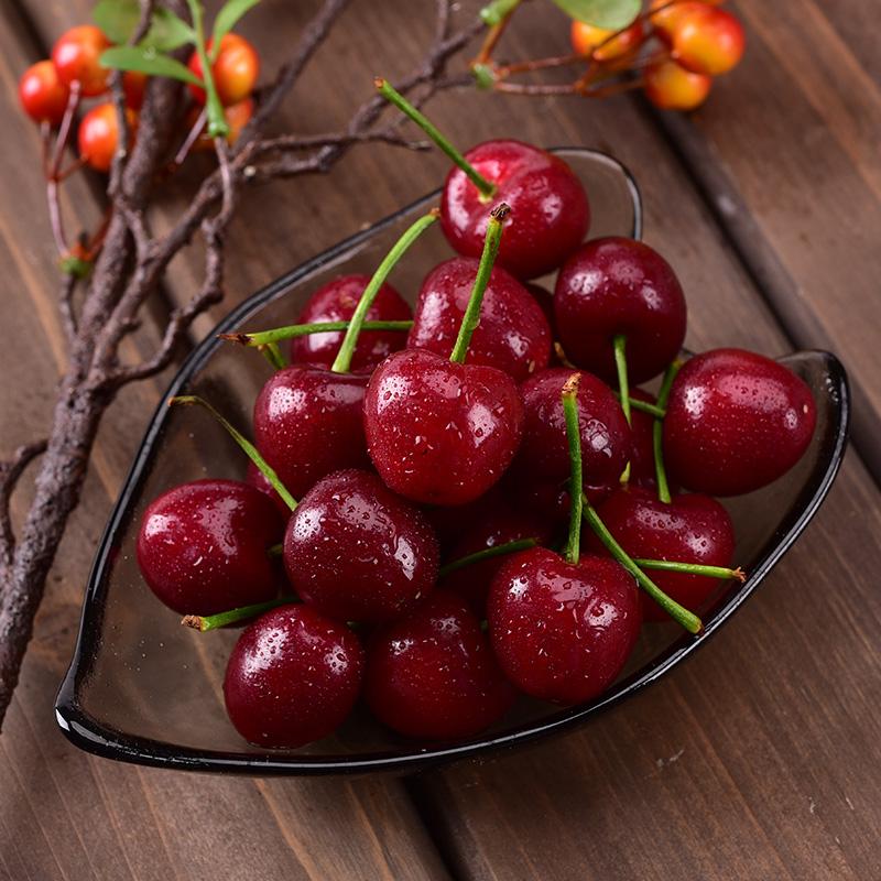 现货烟台大樱桃美早车厘子新鲜水果现摘现发山东特产非黑珍珠2斤
