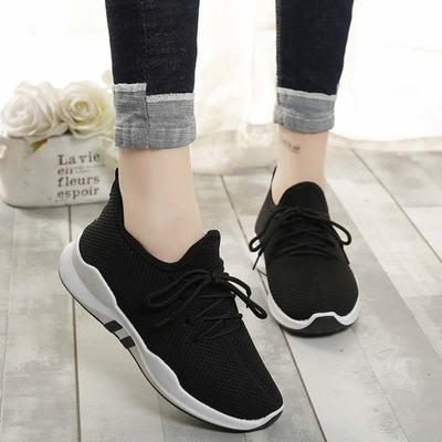 男女士休闲运动鞋春秋季单鞋情侣跑步旅游健身鞋轻便潮流韩版防滑