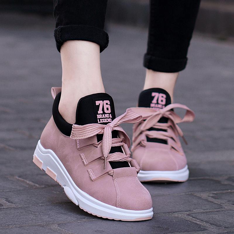 新款粉色鞋