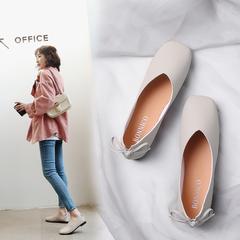 浅口方头单鞋
