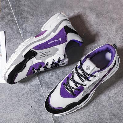 男鞋秋冬季新款ins超火的鞋子男韩版潮流运动增高小白老爹鞋子男