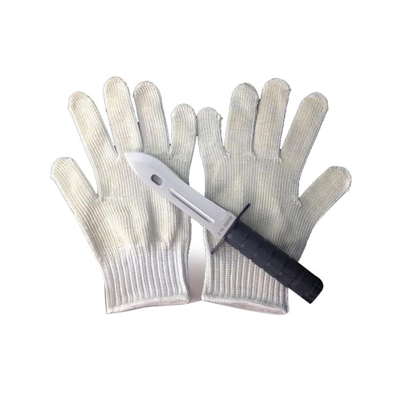 保安护手手套户外钢丝防割防利刃防刺防砍防刀战术防身武器手套