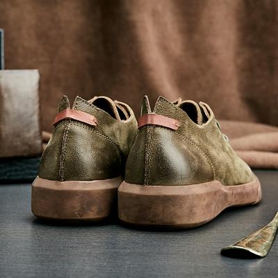 男鞋子夏季小皮鞋男士复古英伦韩版潮流百搭休闲大头工装潮鞋板鞋