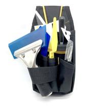 汽车贴膜工具包 车身改色膜专用贴膜小工具包 多功能帆布五金腰包