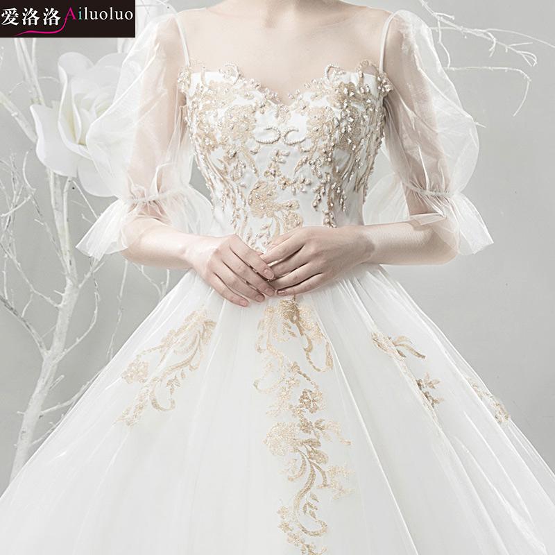 公主韩式婚纱