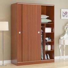 精品衣柜推拉门实用实质定制整体组装卧室移门现代时尚实用型柜子