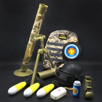 Children's toy mortars Jedi 60 can be launched to pursue the parent-child battle military model vibrato boy rocket