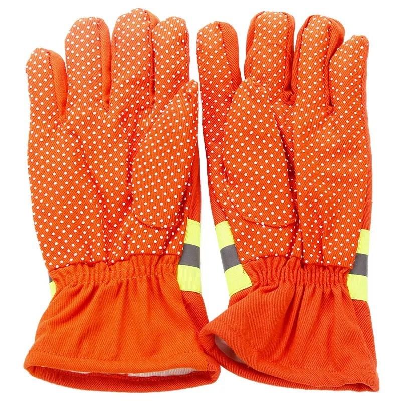 隔热手套 防滑手套 长胶手套防护手套阻燃物流消防快递邮管局包邮