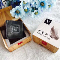 V soap pure natural handmade soap honey mint bamboo charcoal silk pregnant women baby can buy one get one free