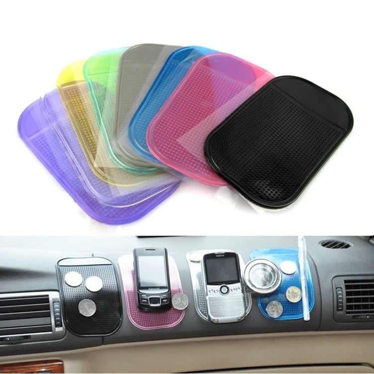 汽车手机支架车载防滑垫仪表台摆件固定防滑垫耐高温导航防滑粘贴