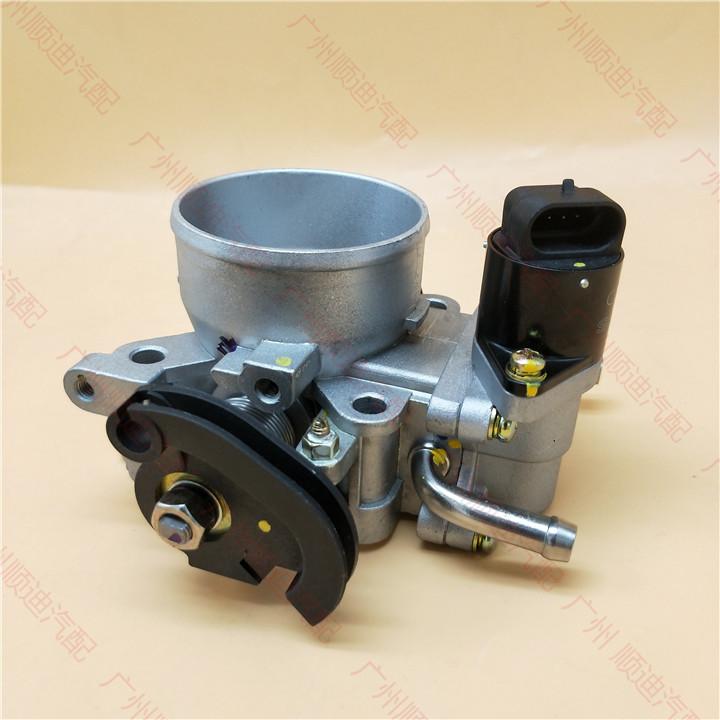 比亚迪F3节气门总成 三菱F3R G3节气门位置传感器 怠速马达 配件
