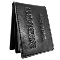 Driver's license card package ID card bank card credit card parcel business card card package leather driving license bag mini bag