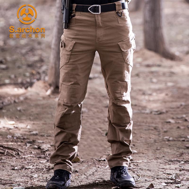 夏季教官战术裤ix7修身指挥工装特种兵9户外男装军迷宽松作训执政