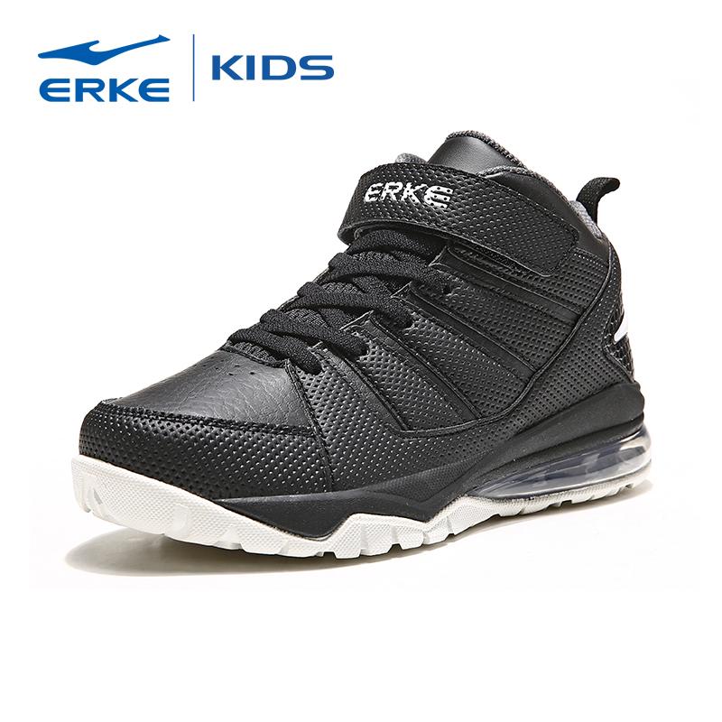 鸿星尔克童鞋儿童运动鞋男童高帮护脚踝篮球鞋中大童鞋子防滑保暖