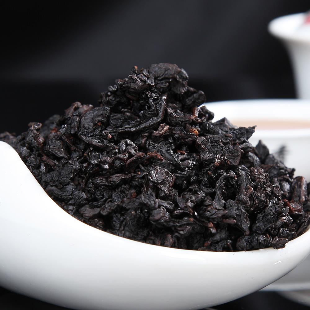 木炭技法 256g 七缘香黑乌龙茶特级浓黑乌龙茶原叶茶叶高档礼盒装