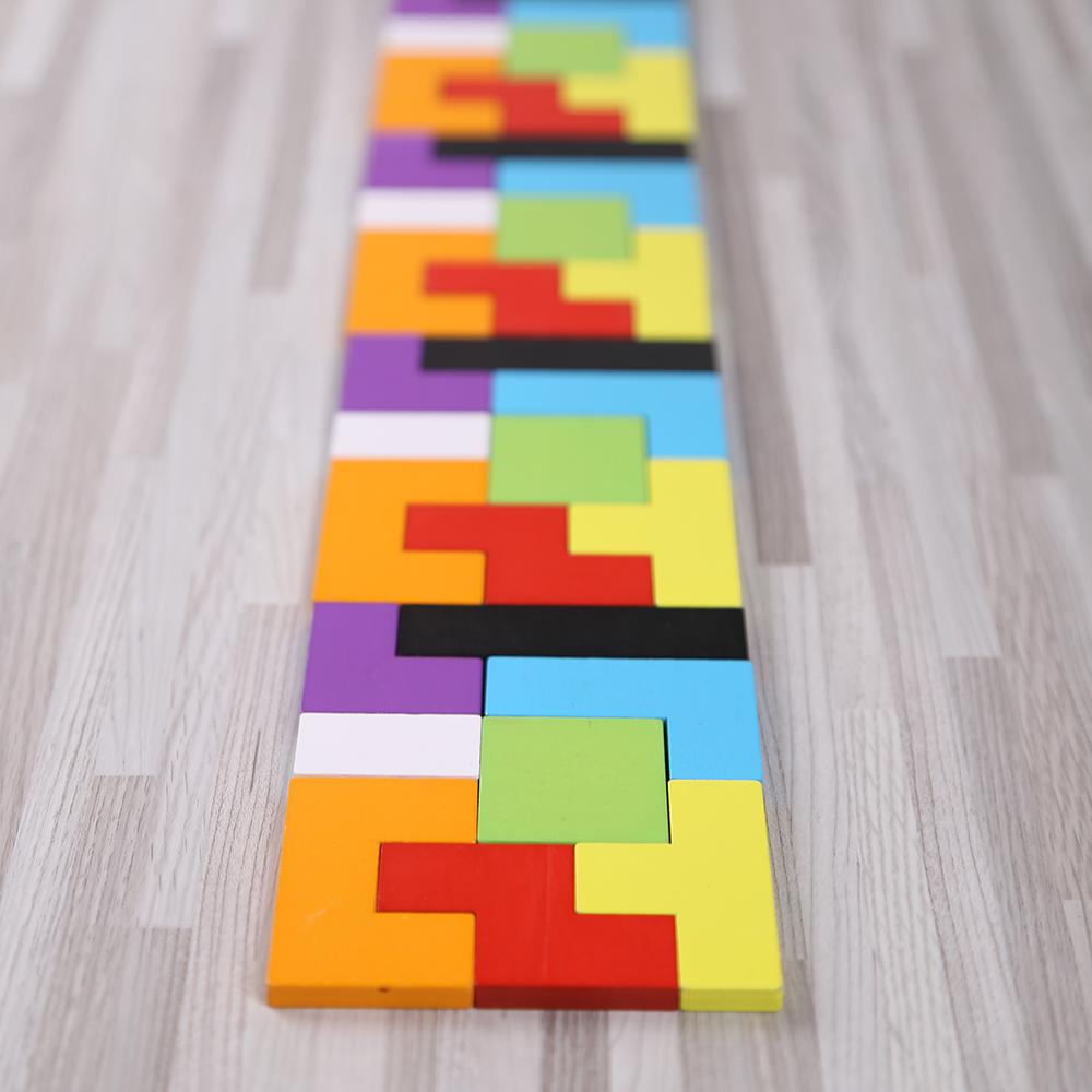 俄罗斯方块拼图积木 1-2-3-6周岁幼儿童益智力开发玩具早教男女孩
