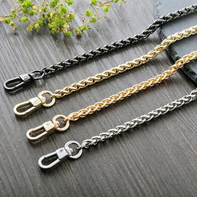 6mm包包链条带单肩链子背包斜挎包带女包带子宽金属链肩带配件带