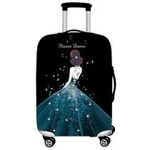 寸防尘罩拉杆箱旅行箱布套保护套30加厚个姓2426外罩图案时尚