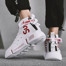 Winter High Upper Shoes Sports Men's Cotton Shoes Plus Flannel Putian Shoes Hip-Hop Tide Net Red ins Shoes Men's Tide Shoes