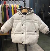 清仓!韩国轻薄儿童羽绒服 男童小童洋气婴儿宝宝羽绒服白鸭绒图片