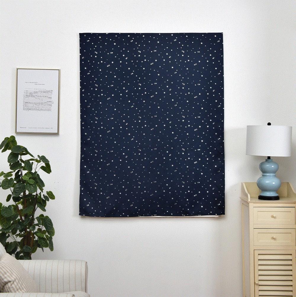 防蚊纱窗纱网防蚊自粘型简易魔术贴磁条可拆卸成品门窗帘