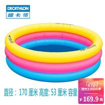 迪卡侬宝宝充气泳池婴幼儿家用游泳池稳定便携方便泳池NABAIJIE