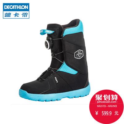 迪卡侬儿童单板滑雪鞋 男童女童滑雪装备单板雪鞋WEDZE1