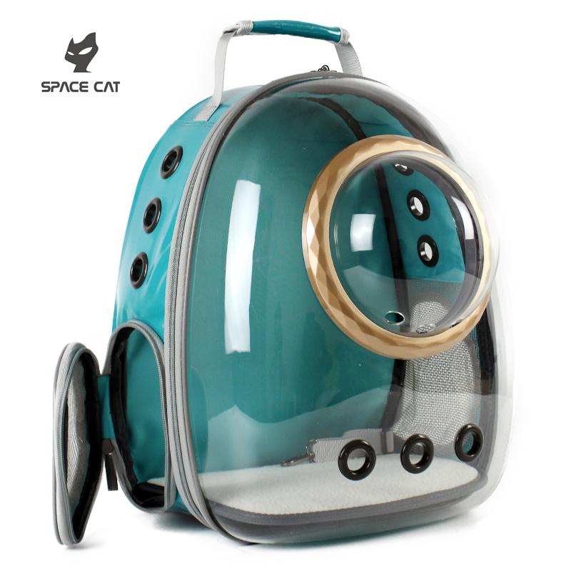 太空喵新款透明猫包宠物舱猫咪背包狗狗双肩猫笼子猫书包外出便携