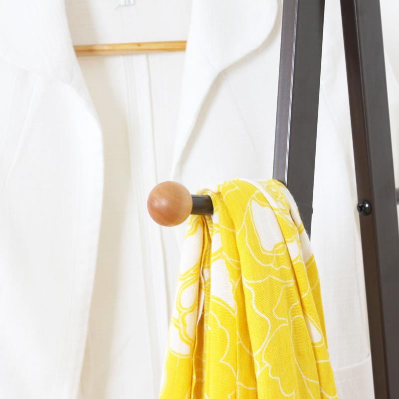 现代简约简易衣帽架落地卧室挂衣架创意多功能铁艺家用客厅衣服架