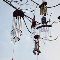 Japanese metal wind chime hanging door decoration creative birthday gift girl bedroom balcony Feng Shui bell decoration pendant