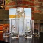 创意活动小礼品玻璃冷水壶凉水壶八角水具五件套茶杯水壶套装促销