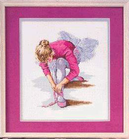 小小渔十字绣套件E008【芭蕾女孩】舞者闺房精准印花印布