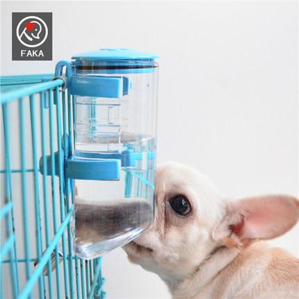 悬挂式挂笼宠物饮水器大容量自动喂水狗水壶猫狗喂水器饮水机