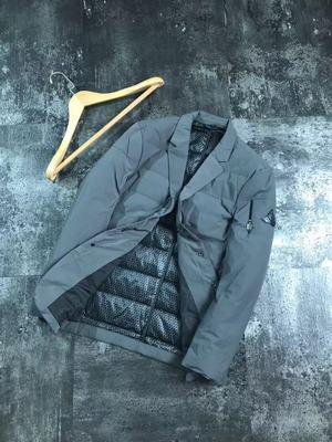 大厂货 男士西装领修身白鸭绒羽绒西装款外套 轻盈显瘦羽绒棉衣男