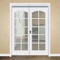 卫生间套装门玻璃门