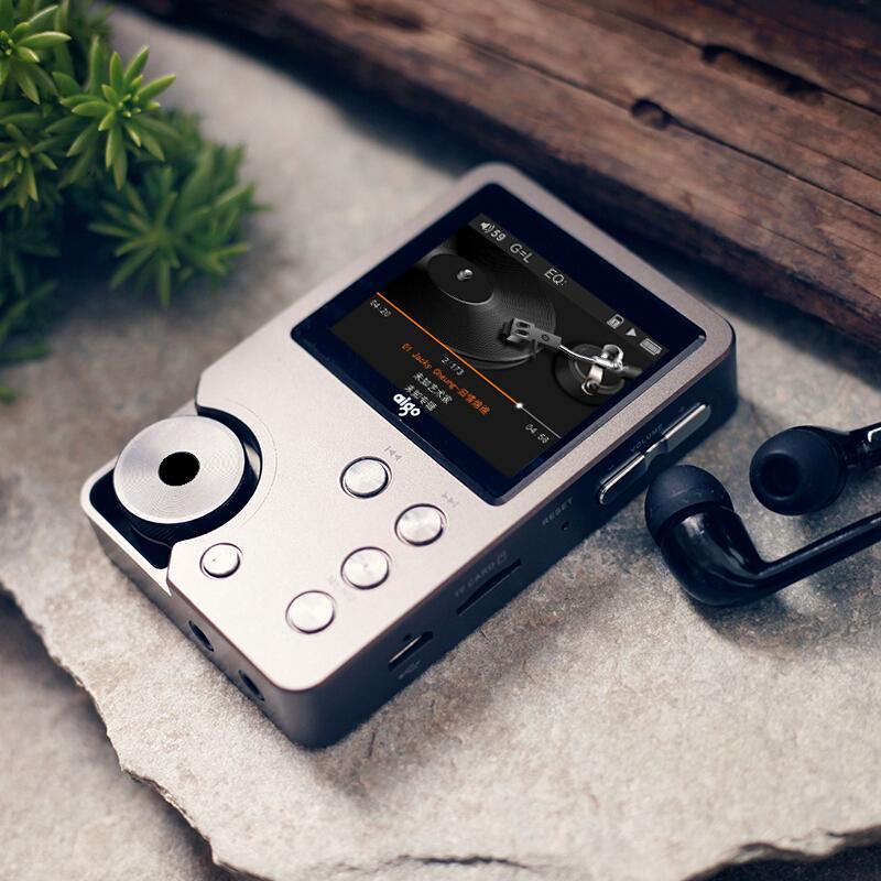爱国者mp3-105Plus 无损音乐hifi播放器 车载随身听学生mp3便携式DSD正品国砖前端发烧母带级 插卡可显示歌词