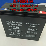 CHILWEE PIUS battery 6-DZM-20A+ 12V20AH large capacity emergency 12 volt 20 amp battery